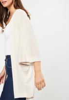 Cotton On - Kimono cardigan - cream