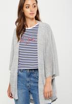 Cotton On - Kimono cardigan - grey