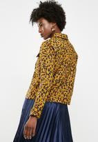 Pieces - Luna jacket - yellow