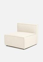 Sixth Floor - Modular single seater - natural