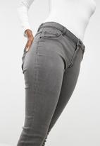 Jacqueline de Yong - Skinny regular jeans - grey