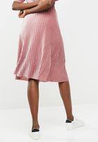 Jacqueline de Yong - Nina pleated skirt - pink