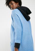 Jacqueline de Yong - 7/8 cardigan knit - blue