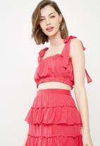 Vero Moda - Emma crop top - pink
