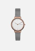 Skagen - Ancher - silver & rose gold