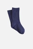 Cotton On - Kids kooky socks - navy