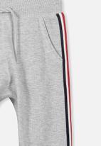 Cotton On - Kids Luca track pants - grey