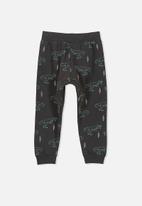 Cotton On - Kids Luca trackpants - black