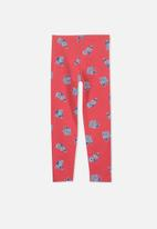Cotton On - Kids huggies tights - red