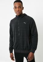 PUMA - Energy full zip hoodie - black