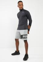 PUMA - Core run long sleeve tee - black