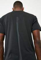 PUMA - Energy short sleeve tech tee - black