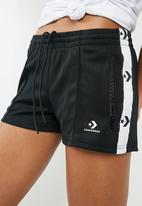 Converse - Chevron track shorts - black
