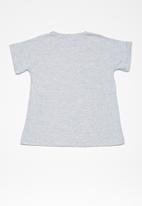 dailyfriday - Kids girls printed swing tee - grey