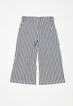 dailyfriday - Kids girls culotte pants - navy & white