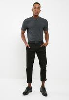 Superbalist - Pique slim fit polo 2 pack - grey & green