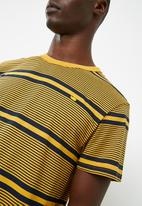 G-Star RAW - Makauri stripe tee - yellow