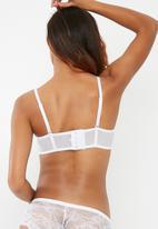 Sissy Boy - Longline bra - white