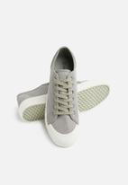 basicthread - Canvas sneaker- grey