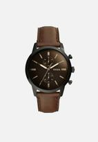 Fossil - 44MM Townsman - brown