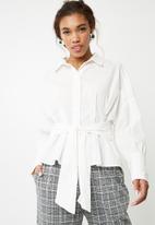 Vero Moda - Nate shirt - white
