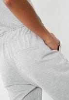 Noisy May - Sara culotte sweat pants - grey