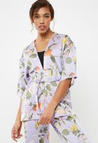 ONLY - North short kimono - multi