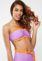 Vero Moda - Fizzy bandeau - purple