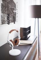 Yamazaki - Bautes headphone stand - white