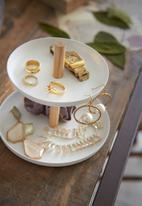 Yamazaki - Tosca accessory tray - white