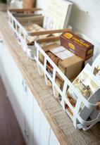 Yamazaki - Tosca storage basket - white