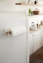 Yamazaki - Tosca magnetic paper towel holder - white