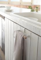 Yamazaki - Tosca kitchen towel hanger - white