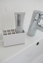 Yamazaki - Mist toothbrush stand - white