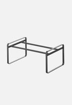 Yamazaki - Expandable 1 tier shoe rack - black