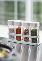 Yamazaki - Tower magnetic kitchen tool rack - white