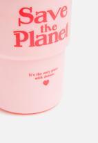 Typo - Reuse me coffee cup - pink