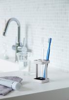 Yamazaki - Slim toothbrush stand - white