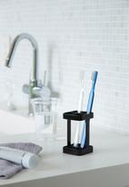 Yamazaki - Slim toothbrush stand - black