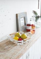 Yamazaki - Tosca kitchen basket - white