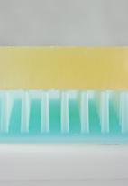 Yamazaki - Float silicone soap tray - blue
