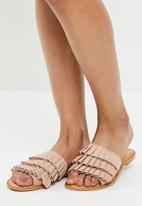 Vero Moda - Cammi leather sandal - pink