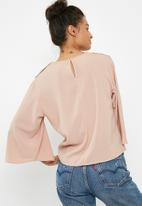 Superbalist - Button detail blouse - pink