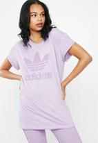 adidas Originals - Purglo loose boyfriend tee - purple
