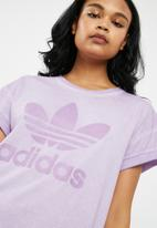 16d492cdbe6 adidas Originals - Purglo loose boyfriend tee - purple. Click to enlarge