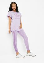 b4712f63178 Purglo loose boyfriend tee - purple adidas Originals T-Shirts ...