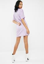 adidas Originals - Purglo tee dress - purple