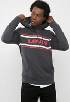 Levi's® - Graphic pullover hoodie - charcoal