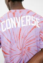 Converse - Tie dye graphic tee - multi