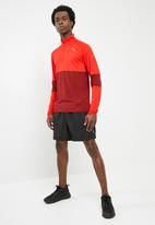 PUMA - Run halfzip top - red